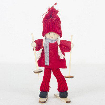 Christmas Tree Ornaments Creative Doll Pendant