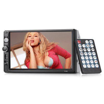 Gocomma 7010B 7 inch TFT HD Touch Screen Car MP5 Player - BLACK WITH OUT REVERSING CAMERA DISPLAY