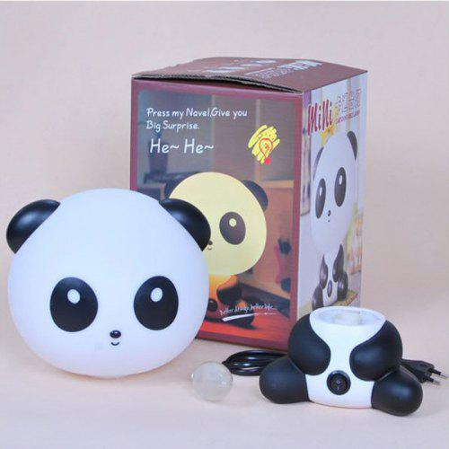 Pour Table Prise La Lampe Us De Panda Light Creative Night MaisonBlanc Nn0v8wm
