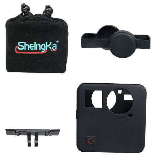 002eb115f Sheingka 4 in 1 Set Storage Bag + Lens Cover + Silicone Sleeve + Aluminum  Alloy