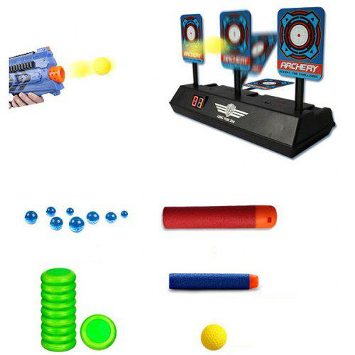 Electric Light Sound Effect Scoring Soft Projectile Target General Purpose Play Exercise Toy