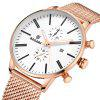 BAGARI 1809A Simple Men Watch - MULTI-A