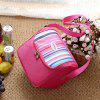 Non-woven Portable Insulation Bag Multi-color Lunch Bag Picnic Refrigerated Ice Pack Insulation - BLACK