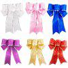 Large Bowknot for Christmas Decoration 5pcs - PINK