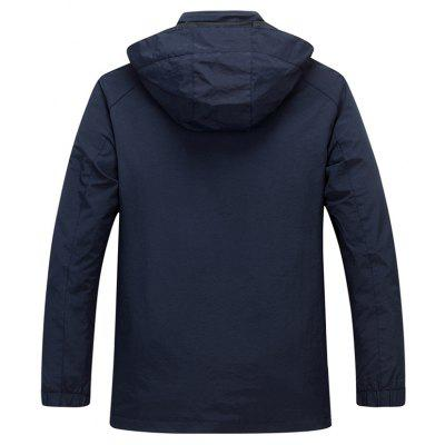 Men's Casual Outdoor Hooded Waterproof Jacket