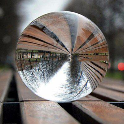 Clear Crystal Ball Healing Sphere Photography Props Photo Gifts Children Game Outdoor Toys