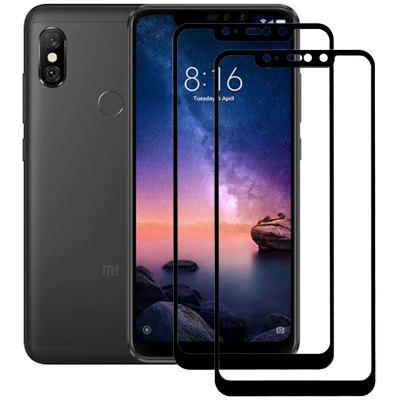ASLING 2.5D Arc Edge Full Screen Tempered Protector for Xiaomi Redmi Note 6 Pro 2pcs
