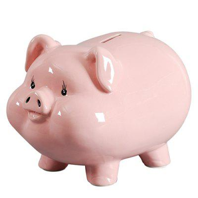 Pig Large Ceramic Piggy Bank Only Enter