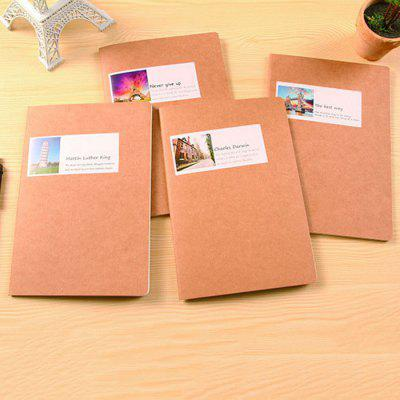Retro Vintage Kraft Paper Notebook 1PC