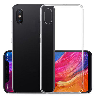 Naxtop TPU Non-slip Soft Protection Back Cover Case for Xiaomi Mi 8 Pro