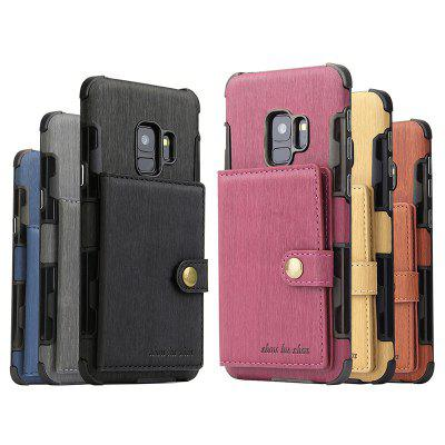 Phone Holster with Card Slot Photo Frame for Samsung S9