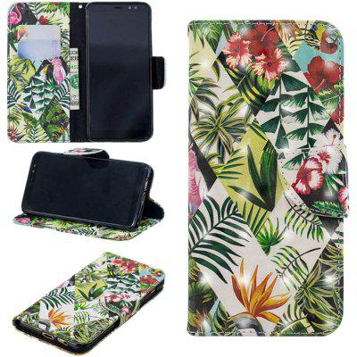 PU Leather Phone Case for Samsung Galaxy A8 (2018)