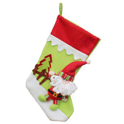 Christmas Supplies Premium Santa Socks Pendant