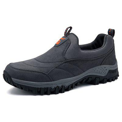 Men Leisure Sneakers Outdoor Anti-slip Slip-on Hiking Shoes