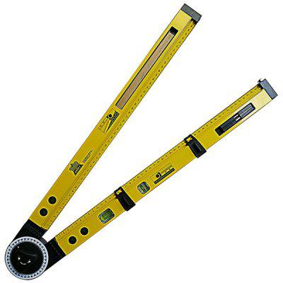 Multi-function Line Gauges Scriber Compass Slope Measurement Angle Instrument Hanging Picture Horizontal Positioning Tool