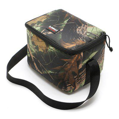 Camouflage Outdoor Picnic Insulation Lunch Bag