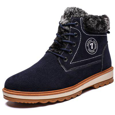 Men's Snow Boots Casual Plus Velvet