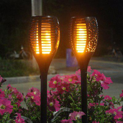 Solar Flame Simulation Torch Light for Outdoor Garden Lawn Wall Landscape