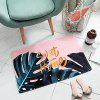 Household PVC Leather Marbled Kitchen Waterproof Non-slip Floor Mat - MULTI-F