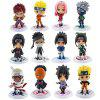 Creative Cartoon Dolls Model Toy 12pcs - MULTI