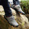 Men's Leather Casual Shoes Outdoor - RED WINE