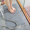 Environmentally Friendly PVC  Suction Cup Floor Mat for Bathroom - APRICOT