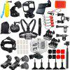 50 in 1 Sports Cameras Kit for GoPro Session 4 / 5 Action Camera - BLACK