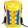 Campleader Outdoor Fishing Waterproof Backpack - YELLOW