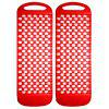 Universal Car Wheel Anti-skid Pad Auto Tire Non-slip Mat 2pcs - RED