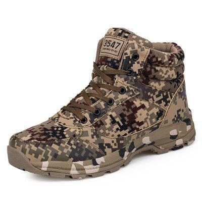 Desert Camouflage Military Cotton Shoes Warm Winter Ultra Light Wear-resistant Hiking