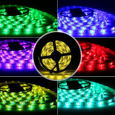 KATUXIN 10m SMD5050 IP65 Epoxy Waterproof Lamp Strip Smart Colorful RGB LED Light Bar 600 Beads with 44 Key Remote Control