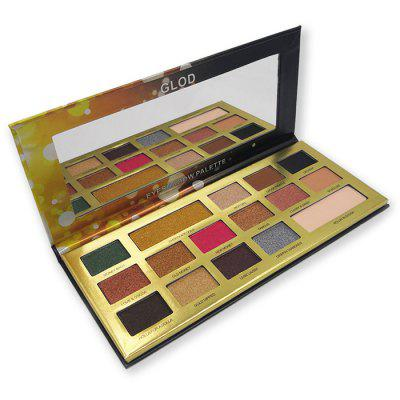 Popfeel EP16 Beautiful 16 Color Eyeshadow Champagne Gold Foil Color