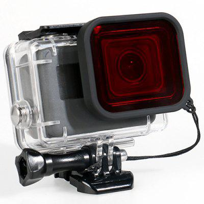 Sports Camera Waterproof Case + Filter for Black GoPro HERO5 / 6 / 2018 Action Cameras