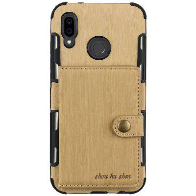 Card Slot Photo Frame Mobile Phone Holster Case for HUAWEI P20 Lite
