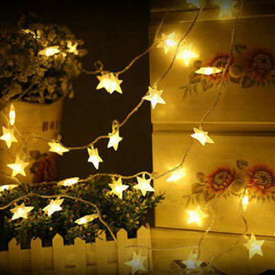 10m 80-LED USB Five-pointed Star Style for Curtain Window Decoration