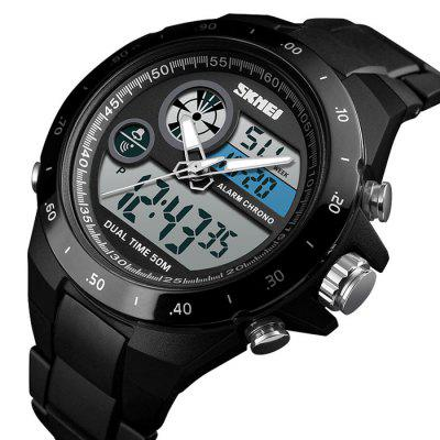 Skmei 1429 Male Outdoor Multi-function Dual Display Chronograph Stopwatch Electronic Watch