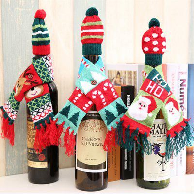 christmas decorations creative christmas bottle sets 3 packs