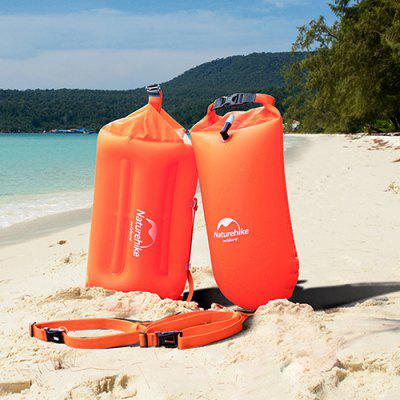 NatureHike Swimming Waterproof Bag con Airbag Seaside Tourism Snorkeling Play Water Cell Phone Storage Bag