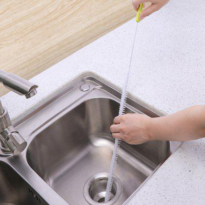 Pipe Dredger Bathroom Sink Kitchen Through Sewer Floor Drain Hair Cleaning Anti-clogging Tool