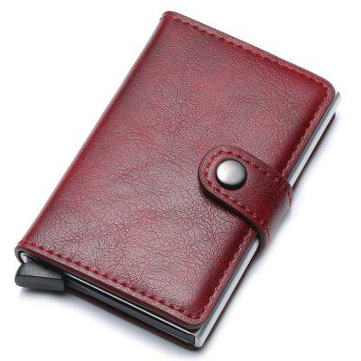 Men Casual Card Bag Durable Portable Anti-theft Wallet