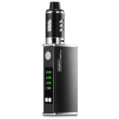 80W LED Light Display Mod Electronic Cigarette Kit with Built-in 2200mAh Li-ion Battery