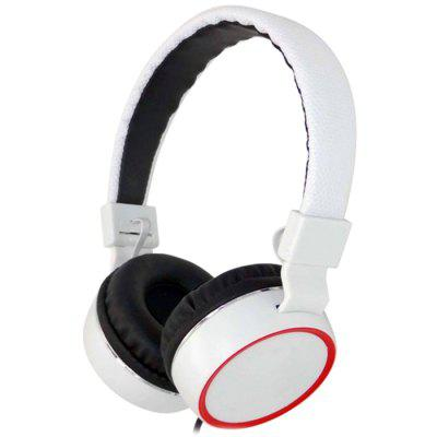 Wired Headset Stereo Folding Headphone with Microphone
