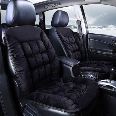 Winter Car Single Piece Interior Supplies Plush Warm Seat Cushion