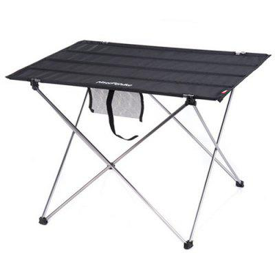 NatureHike Outdoor Aluminum Alloy Folding Table Portable Stall Table Picnic Table