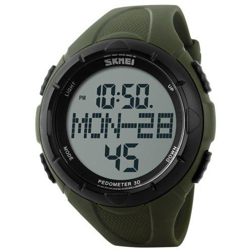 Skmei 1122 Male Waterproof Electronic Multi-function Running Watch