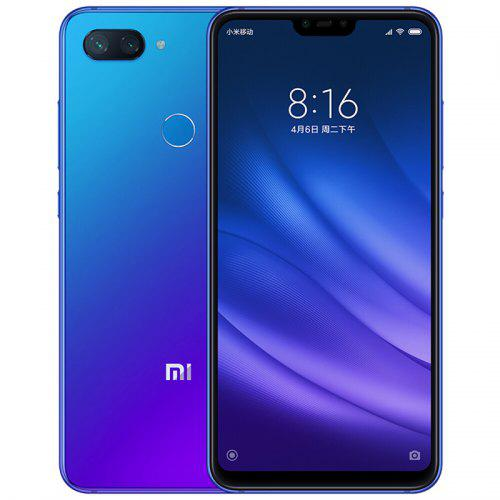 Gearbest Xiaomi Mi 8 Lite 4G Phablet 128GB ROM Global Version - BLUE 6GB RAM 24.0MP Front Camera
