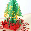 Creative Christmas Card Three-dimensional Christmas Tree Greeting Card - MULTI-A