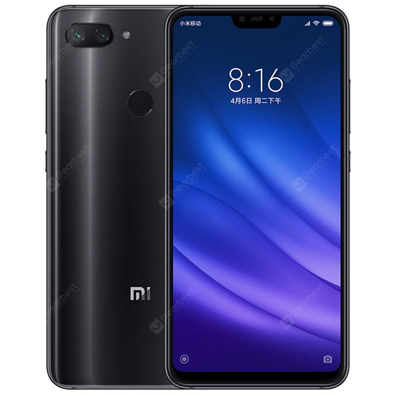 Xiaomi Mi 8 Lite Global Version 4G Phablet - BLACK