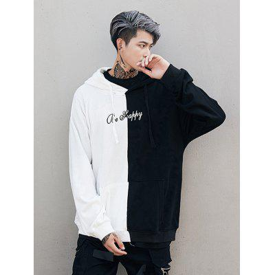 Hooded Long Sleeve Loose Men Comfortable Hoodie