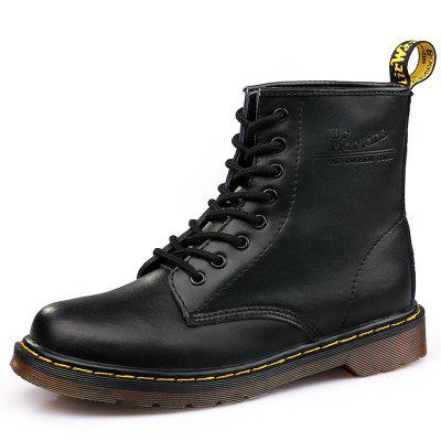 Fashion Solid Color Durable Martin Boots